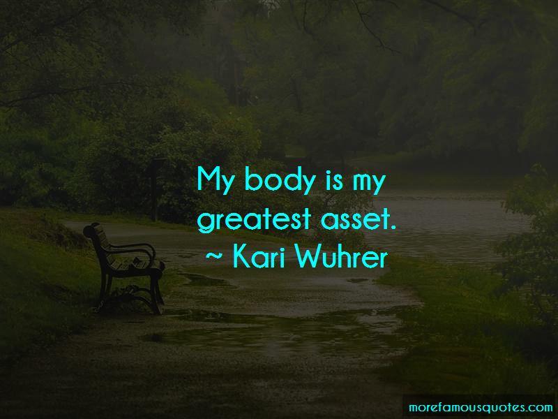 Kari Wuhrer Quotes
