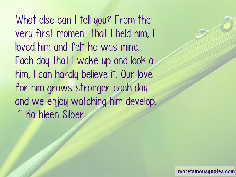 Kathleen Silber Quotes Pictures 4