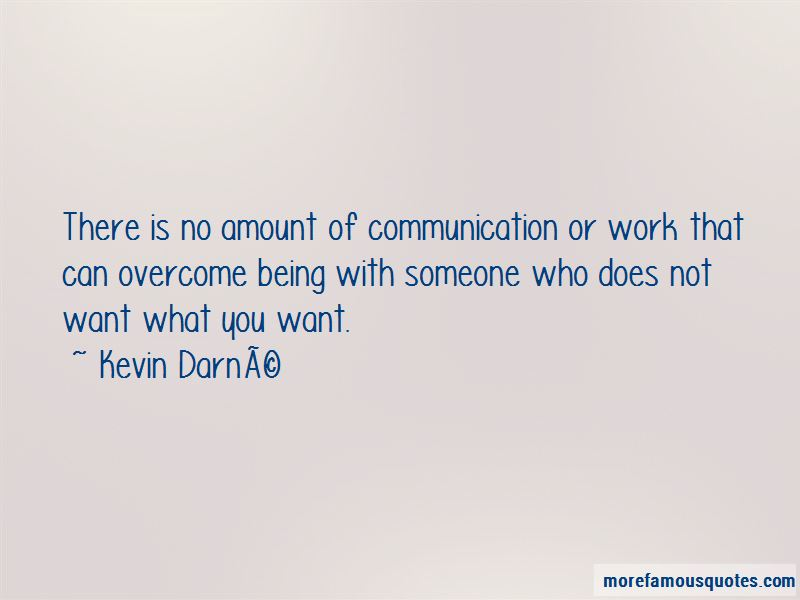Kevin Darne Quotes