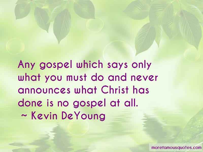 Kevin DeYoung Quotes Pictures 2
