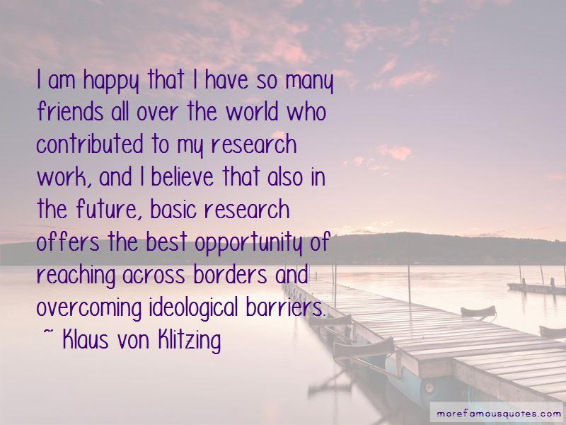 Klaus Von Klitzing Quotes Pictures 3