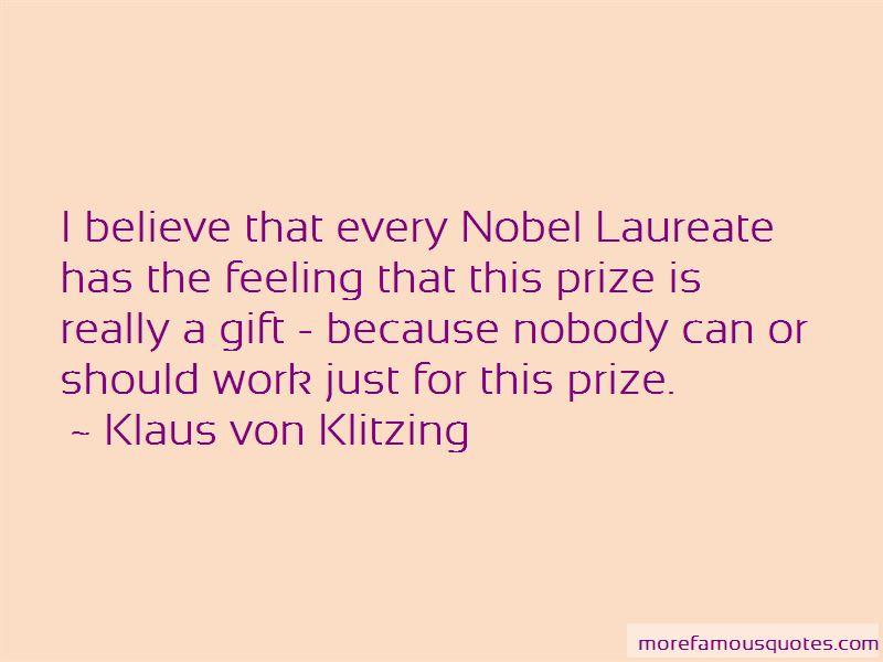 Klaus Von Klitzing Quotes Pictures 4
