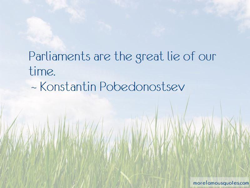 Konstantin Pobedonostsev Quotes
