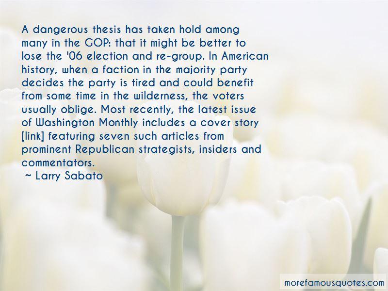 Larry Sabato Quotes Pictures 3