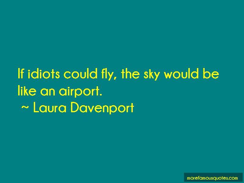 Laura Davenport Quotes