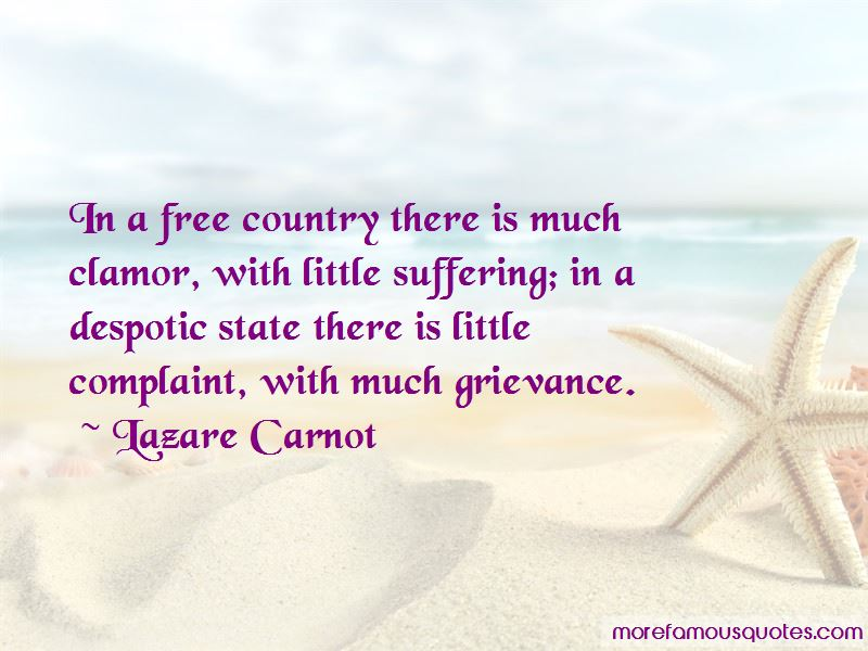 Lazare Carnot Quotes