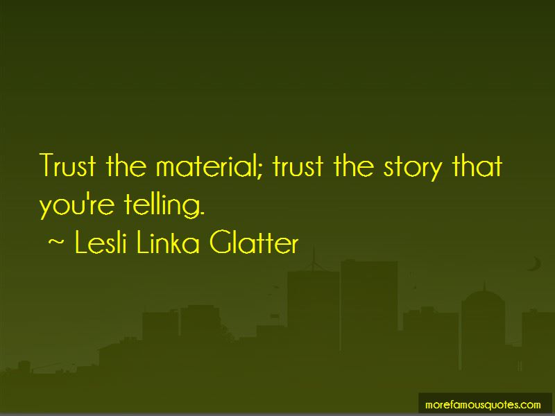 Lesli Linka Glatter Quotes Pictures 4