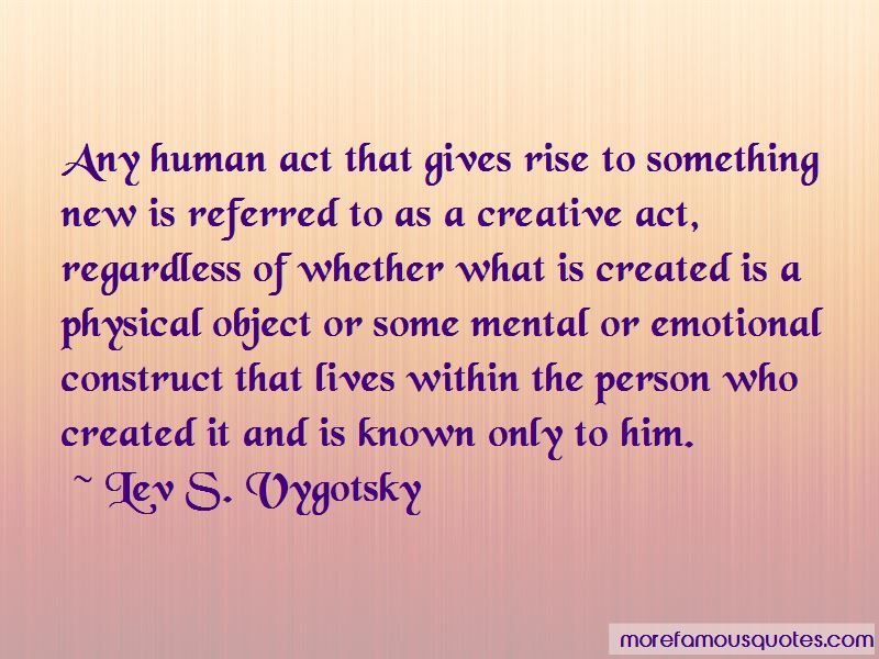 Lev S. Vygotsky Quotes Pictures 4