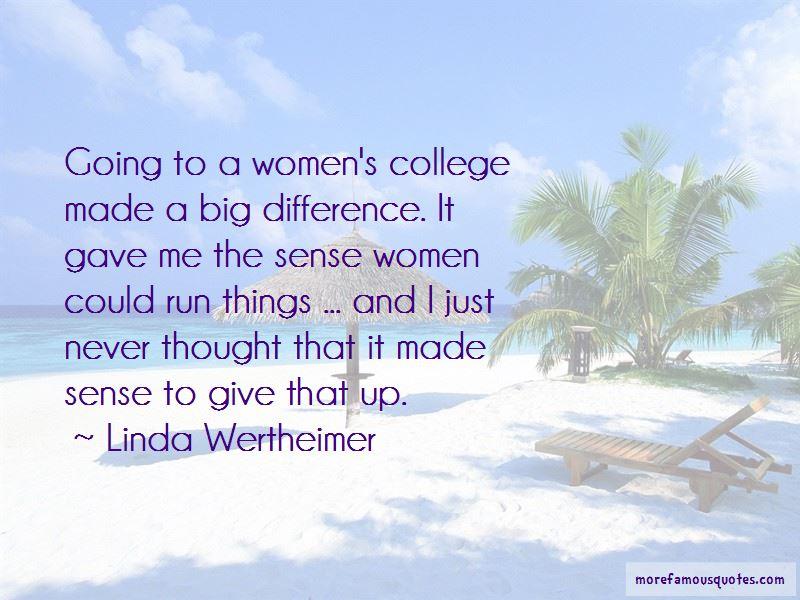 Linda Wertheimer Quotes