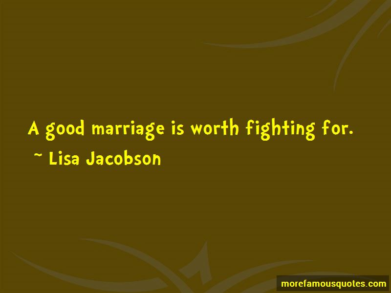 Lisa Jacobson Quotes