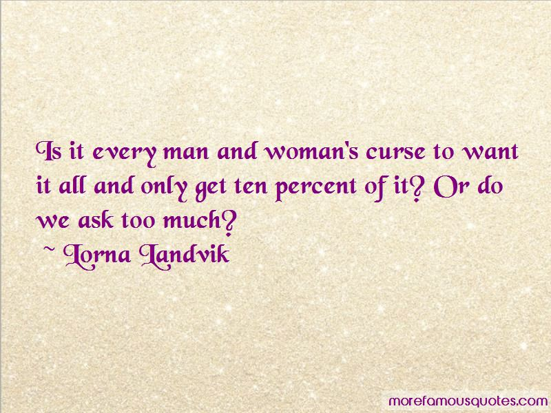 Lorna Landvik Quotes