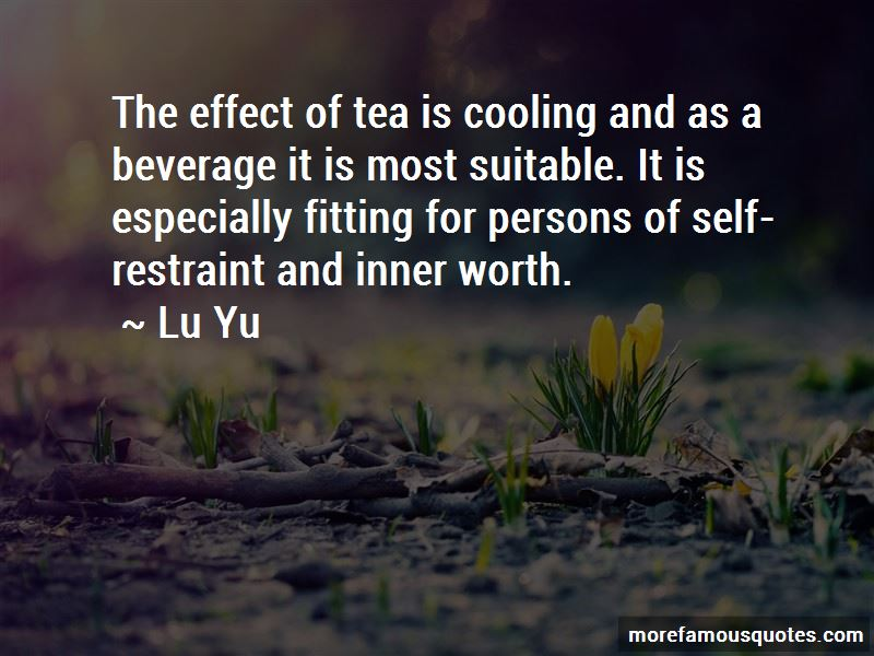 Lu Yu Quotes Pictures 3