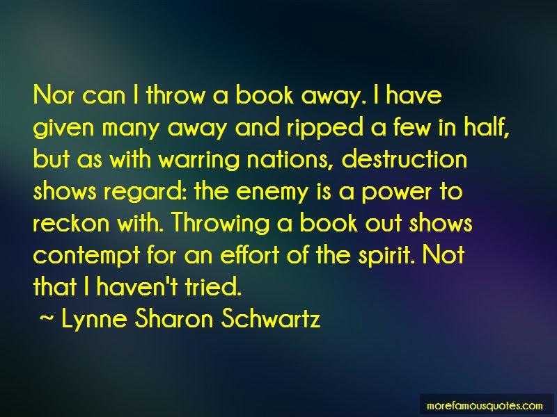 Lynne Sharon Schwartz Quotes