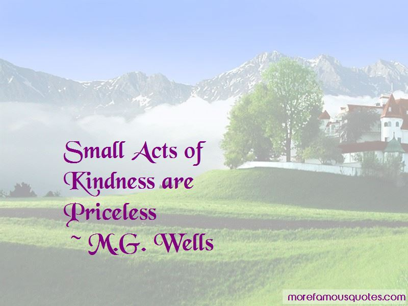 M.G. Wells Quotes