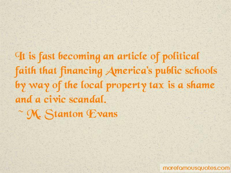 M. Stanton Evans Quotes Pictures 3