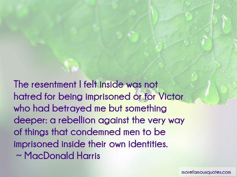 MacDonald Harris Quotes Pictures 3