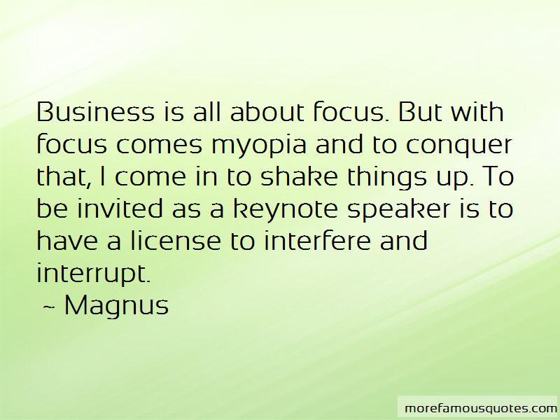 Magnus Quotes