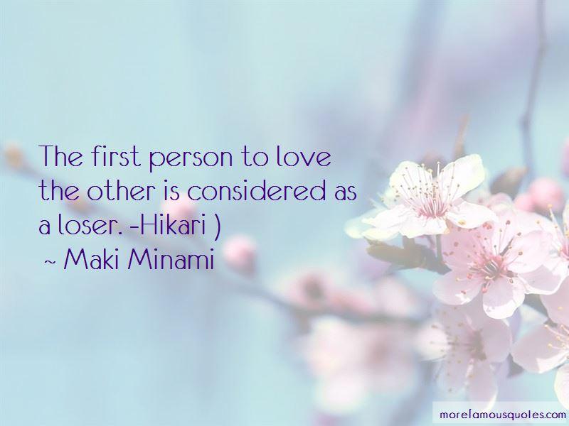 Maki Minami Quotes Pictures 3