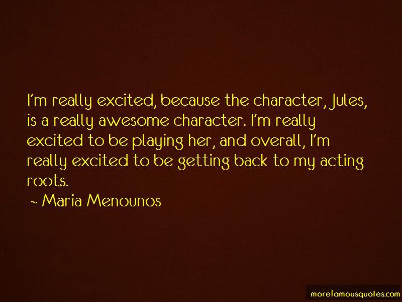 Maria Menounos Quotes Pictures 4