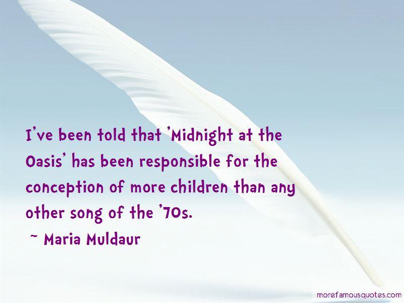 Maria Muldaur Quotes