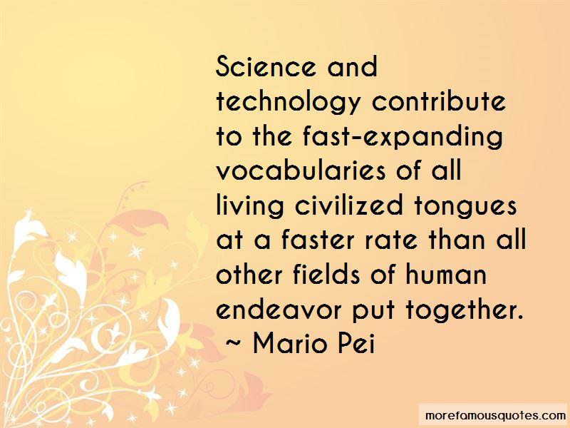 Mario Pei Quotes Pictures 3