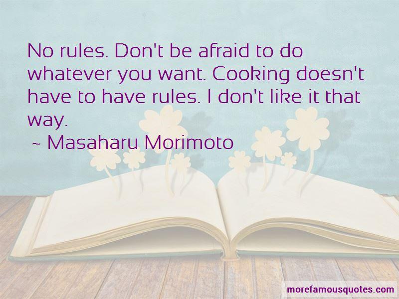 Masaharu Morimoto Quotes Pictures 2