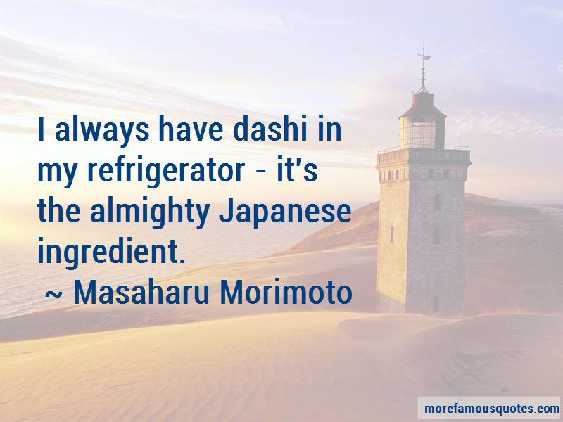 Masaharu Morimoto Quotes Pictures 4