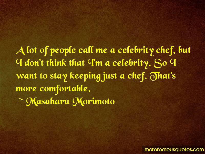 Masaharu Morimoto Quotes