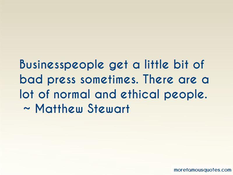 Matthew Stewart Quotes Pictures 4