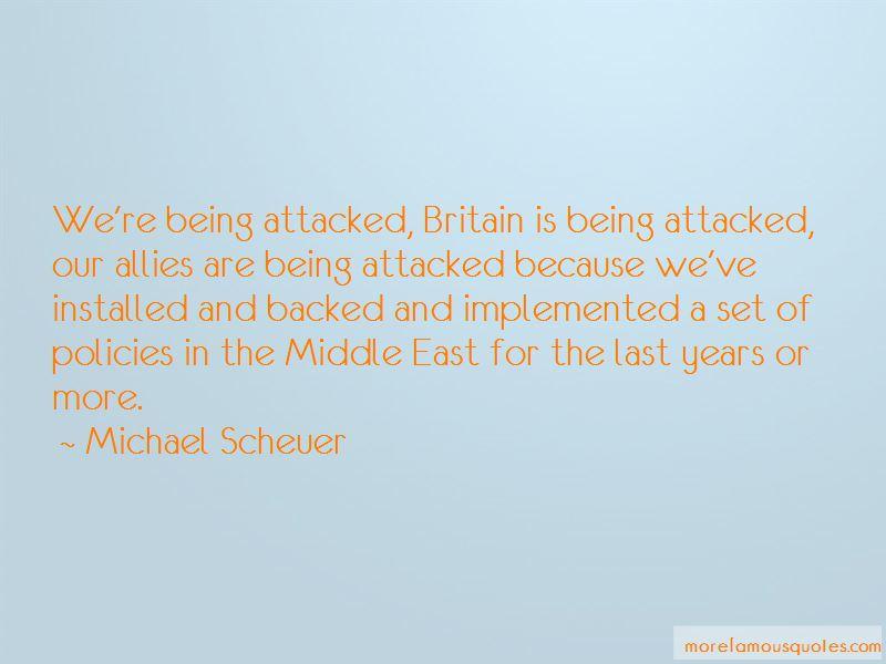 Michael Scheuer Quotes Pictures 2