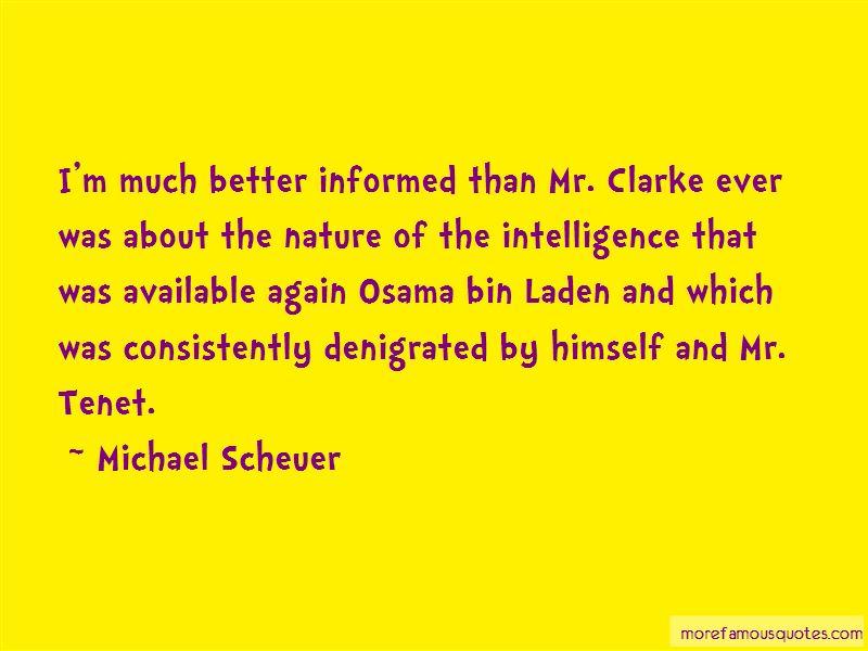 Michael Scheuer Quotes Pictures 4