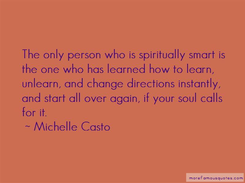 Michelle Casto Quotes