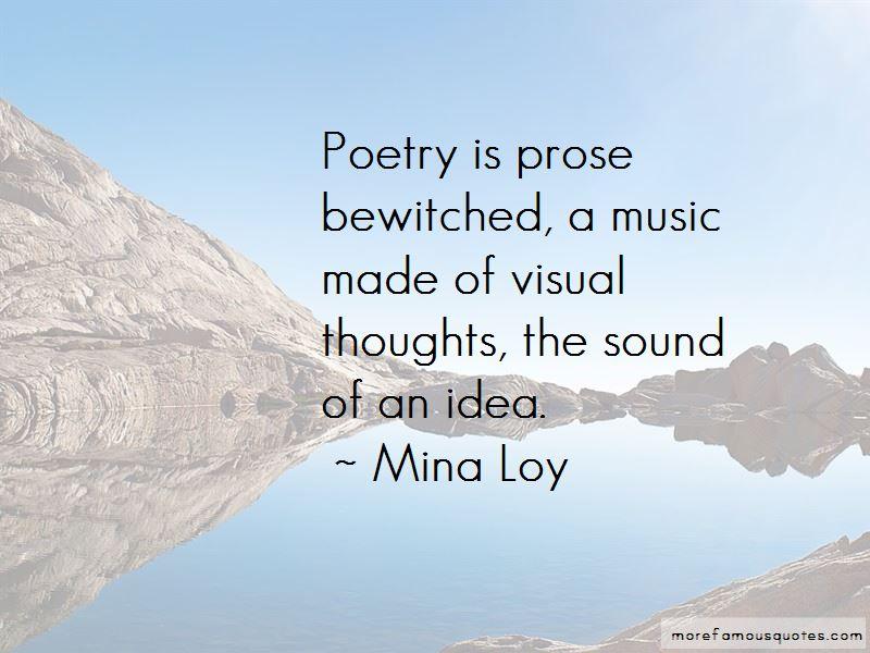 Mina Loy Quotes