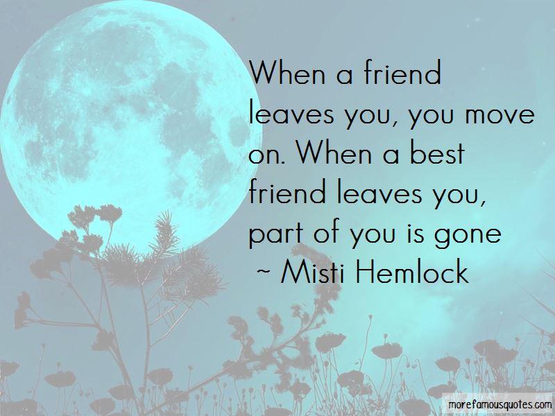 Misti Hemlock Quotes