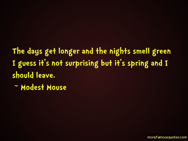 Modest Mouse Quotes Pictures 4