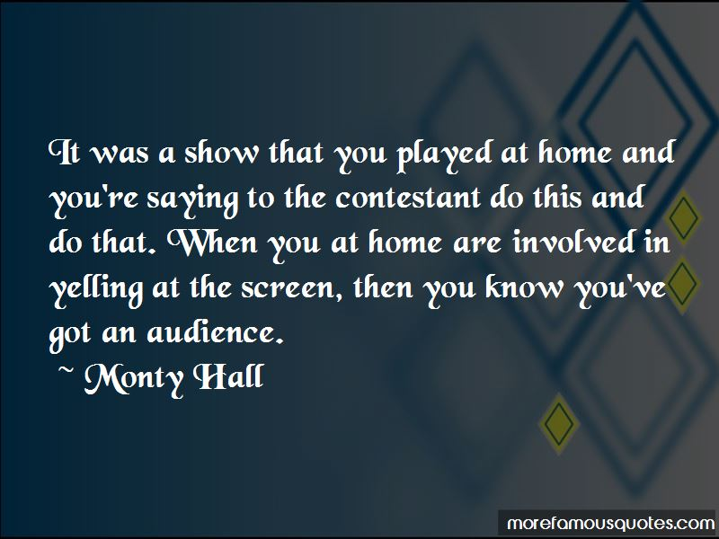 Monty Hall Quotes Pictures 2