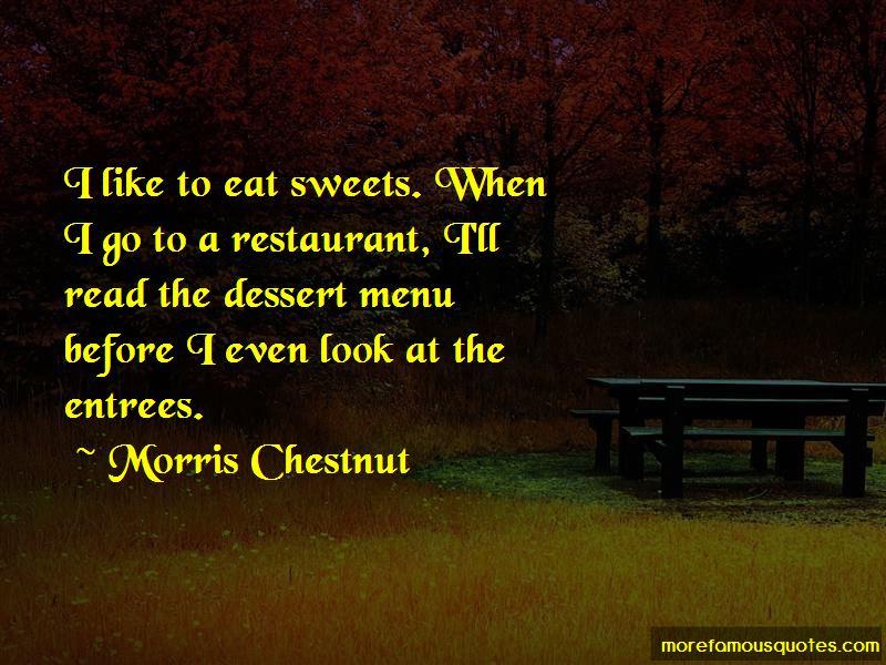 Morris Chestnut Quotes Pictures 2