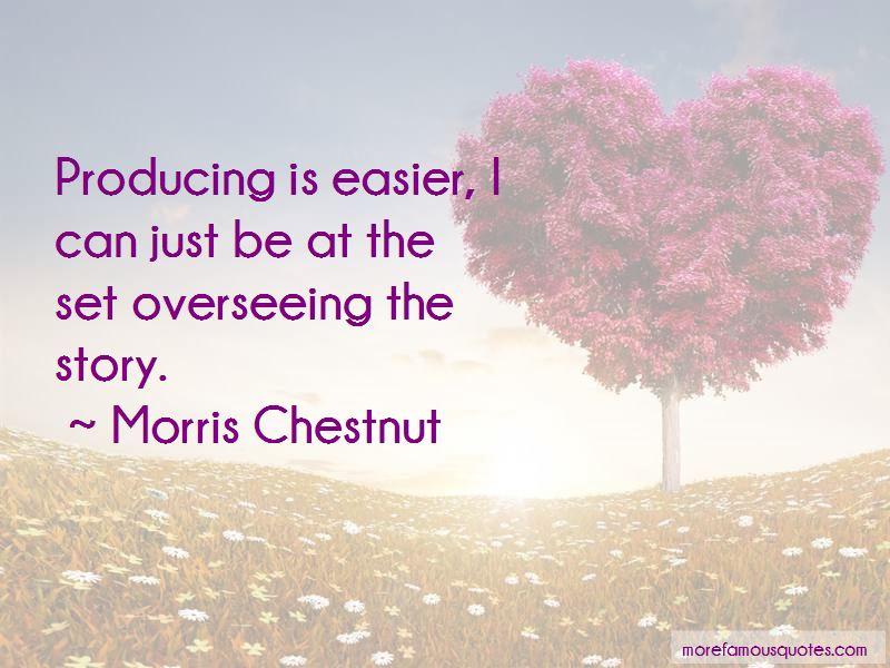 Morris Chestnut Quotes Pictures 3