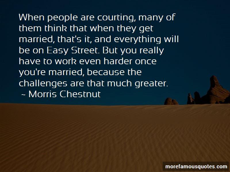 Morris Chestnut Quotes