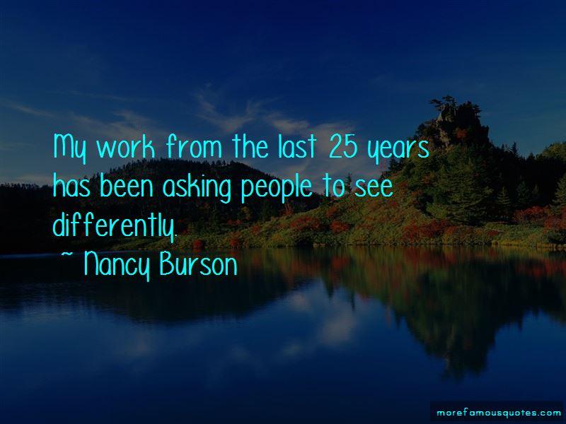 Nancy Burson Quotes