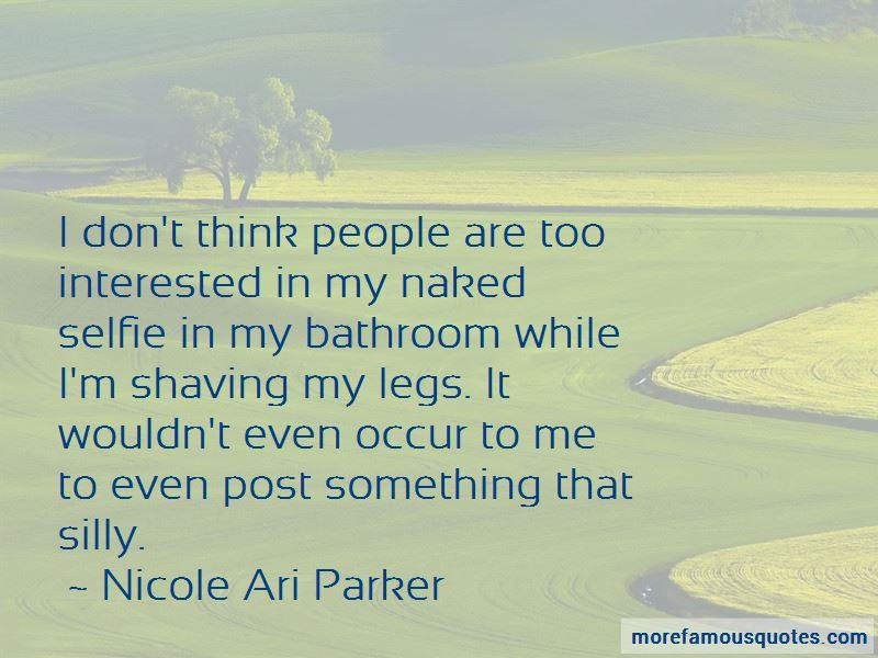 Nicole Ari Parker Quotes