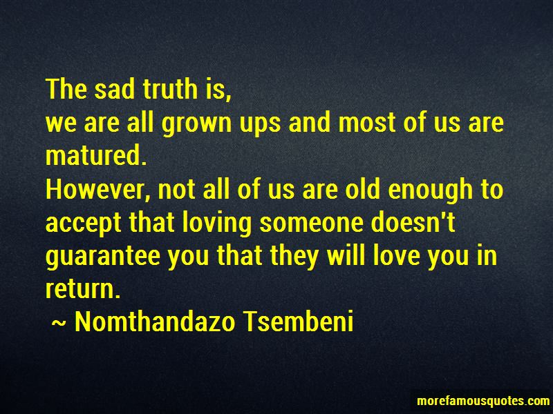 Nomthandazo Tsembeni Quotes