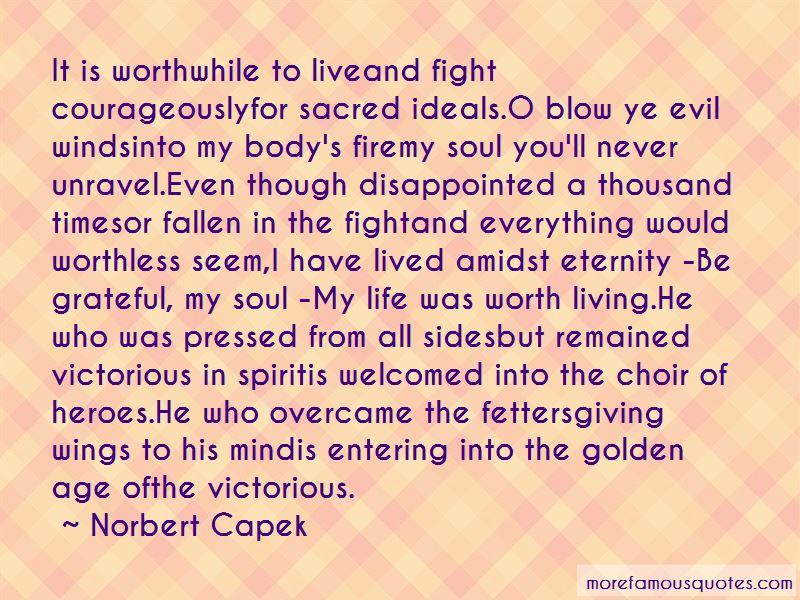 Norbert Capek Quotes