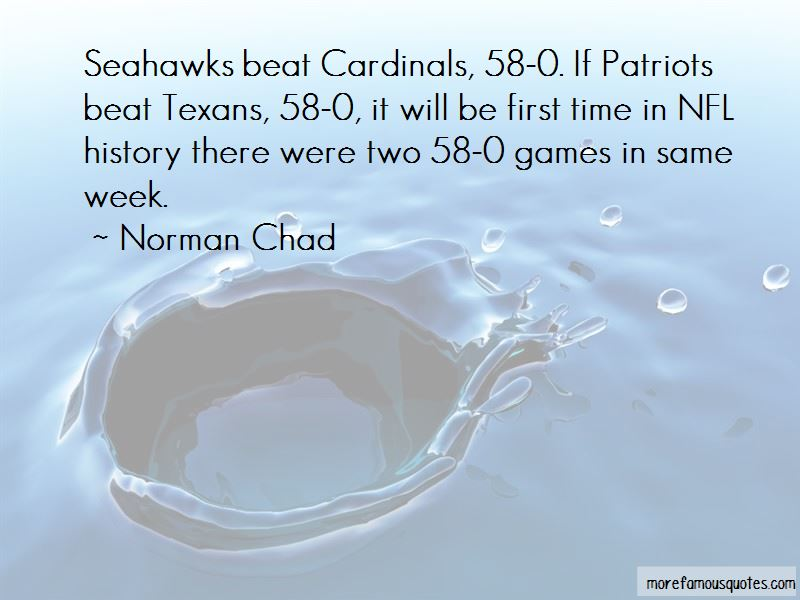 Norman Chad Quotes