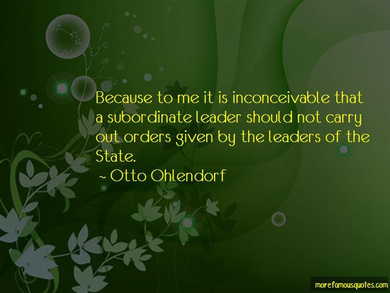 Otto Ohlendorf Quotes Pictures 2