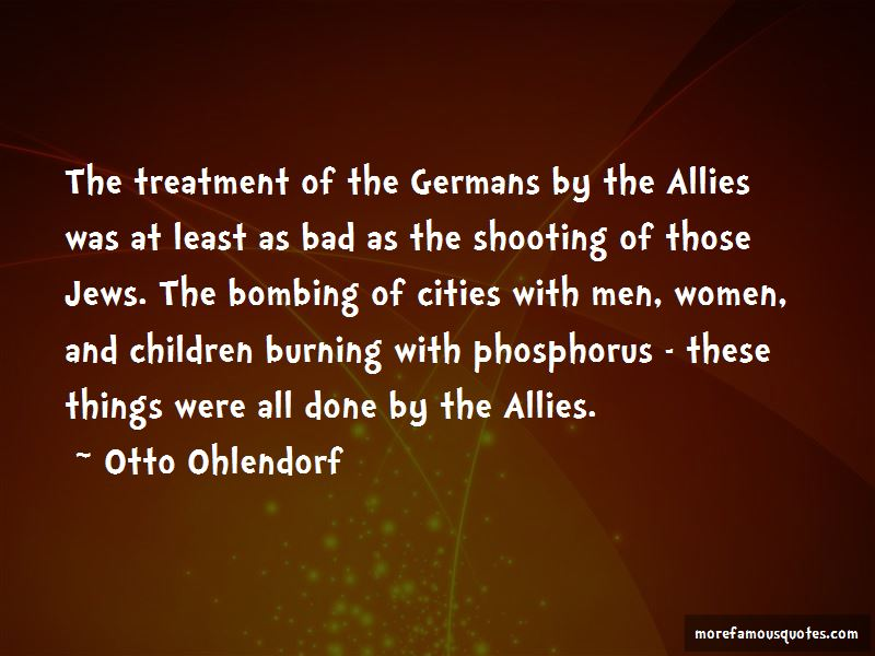 Otto Ohlendorf Quotes