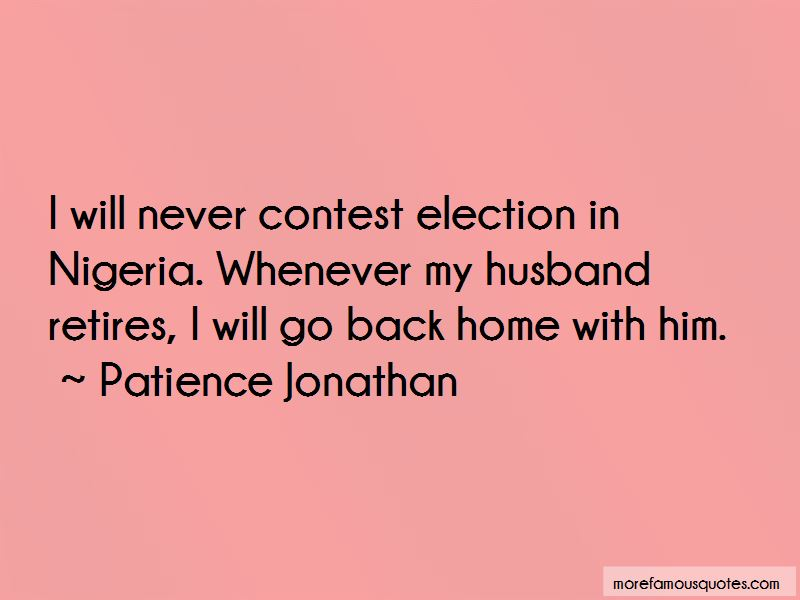 Patience Jonathan Quotes Pictures 3