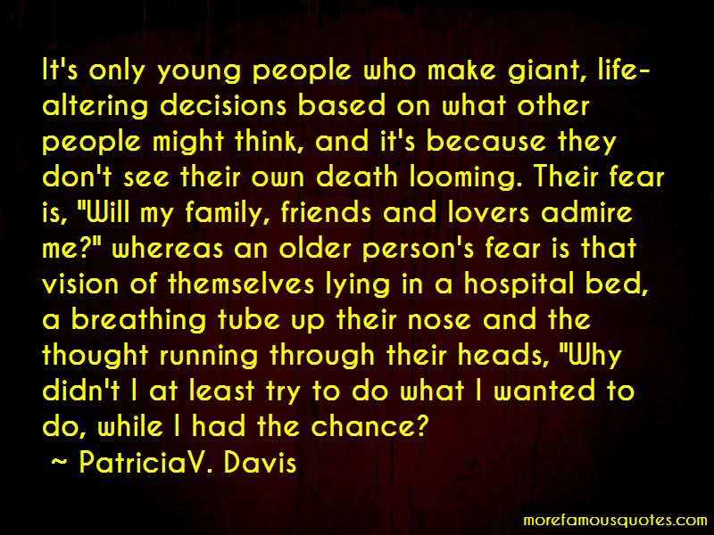 PatriciaV. Davis Quotes Pictures 4