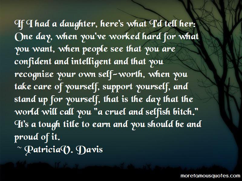 PatriciaV. Davis Quotes