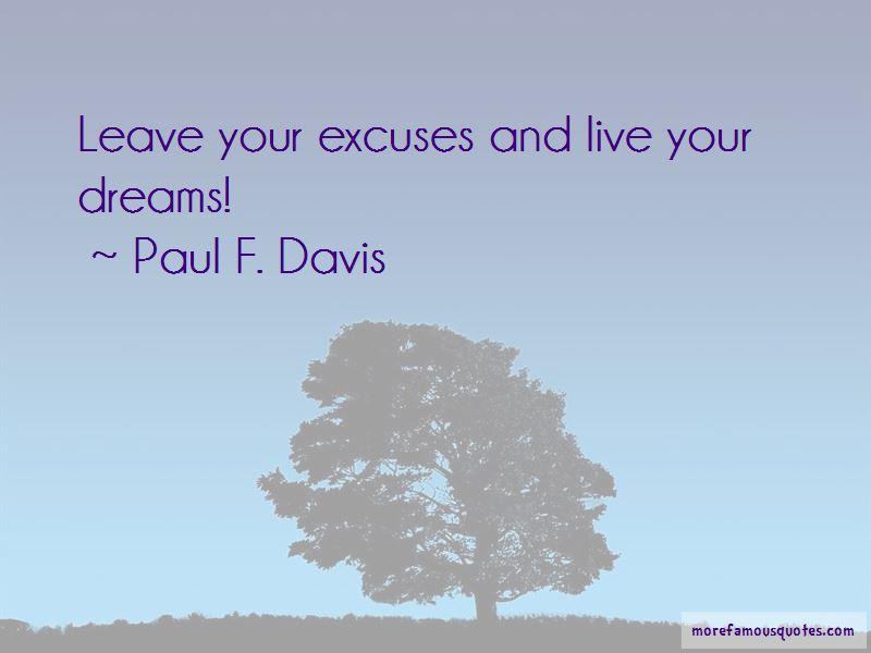 Paul F. Davis Quotes Pictures 2